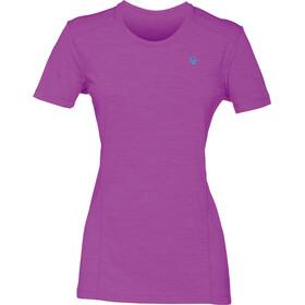 Norrøna W's Wool T-Shirt Royal Lush